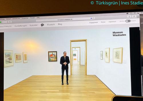 Museum-Wiesbaden-august-macke-Paradies-live-führung-türkisgrün